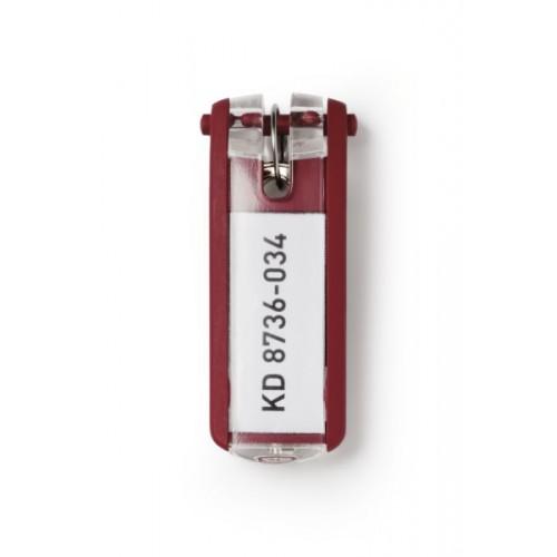 Брелок для ключей Durable Key Clip, красный, арт.D1957-03