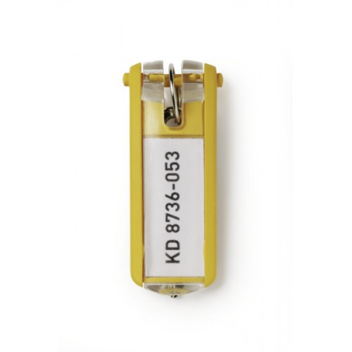 Брелок для ключей Durable Key Clip, желтый, арт.D1957-04