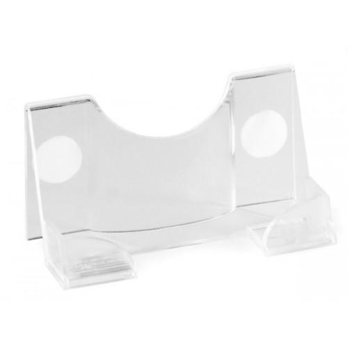 Визитница настольная пластиковая Durable, прозрачная, арт.D2414-19