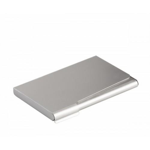 Визитница карманная Durable, алюминиевая/матовая, арт.D2415-23