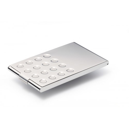 Визитница карманная Durable, 20 карточек, сталь/хром, арт.D2440-23