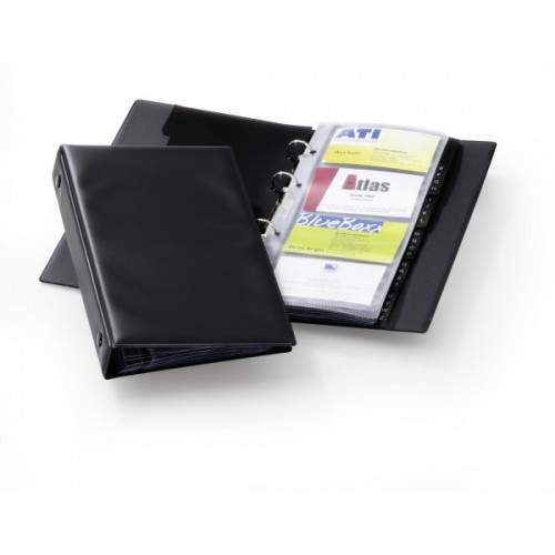 Визитница Durable Visifix Economy на 96 карт, 145 x 255 мм, арт.D2441-01