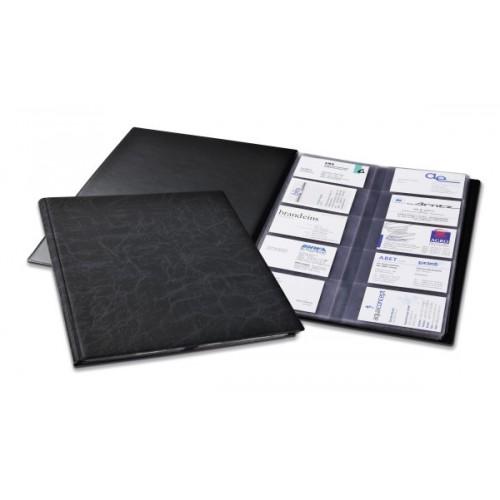Визитница Durable Visifix 400, А4, 230x310 мм, черная, арт.D2445-01