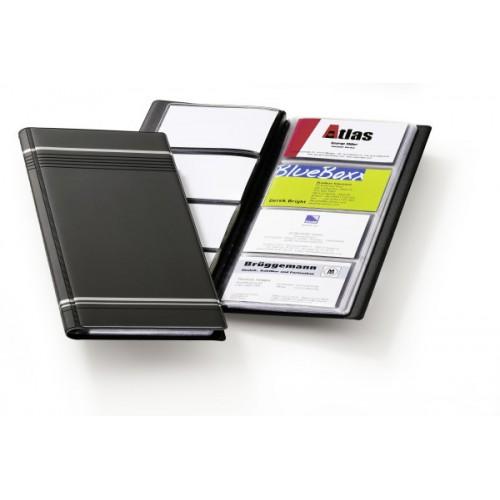 Визитница Durable Visifix 96, 250х118 мм, темно-серая, арт.D8581-58