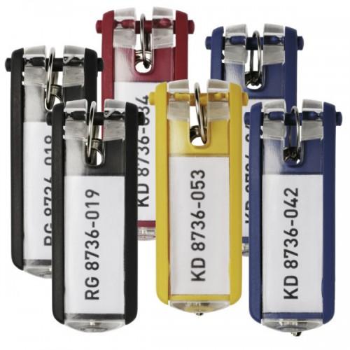 Брелок для ключей Durable Key Clip, ассорти, арт.D1957-00