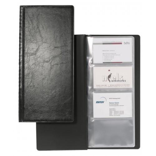 Визитница Durable Visifix на 128 карточек, черная, арт.D2308-01