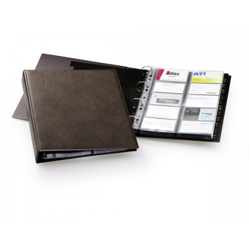 Визитница Durable Visifix 400, A4, 57х90 мм, коричневая, арт.D2384-11