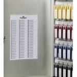Ключница настенная металлическая Durable Key Box, 48 шт, арт.D1954-23