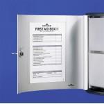 Аптечка настенная Durable First Aid Box, 302x280x118 мм, арт.D1970-23