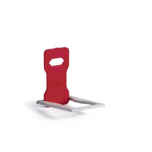 Универсальная подставка для мобильного телефона Durable, красная, арт.D7735-03