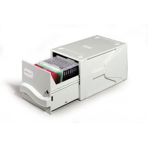 Бокс Durable Multimedia для информационных носителей, 26 CD или 136 3.5 дюйма или 45 ZIP, 16.5x19,5x32 см, арт.D5256-10