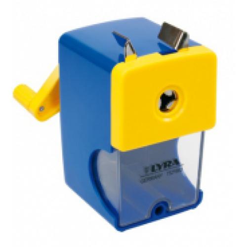 Точилка механическая настольная Lyra d до 12 мм, арт.L7321660