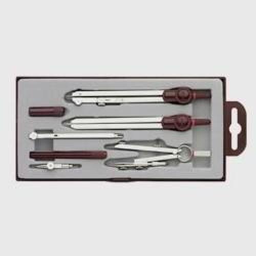 Готовальня Rotring (Ротринг) Centro, 7 предметов, арт. R529215