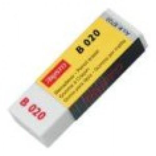 Ластик для карандаша Aristo (Аристо) В020, 63х22х11 мм, 20 шт/уп, арт. AH87120