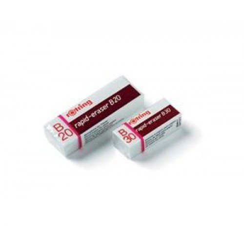 Ластик для карандаша Rotring (Ротринг) В20, 20 шт/уп, арт. R551120A
