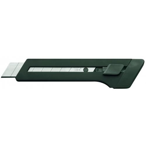 Нож большой промышленный Edding (Эддинг) M18, 18 мм, черный 001