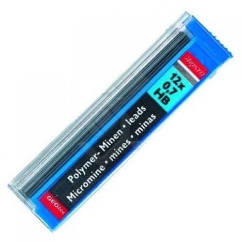 Грифели для автоматических карандашей Aristo (Аристо), 0,7 мм, HB, арт. AH86708