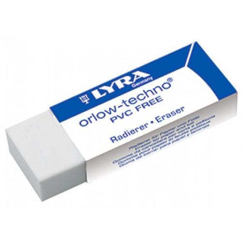 Ластик офисный Lyra, 42x18x11 мм, арт.L7413300