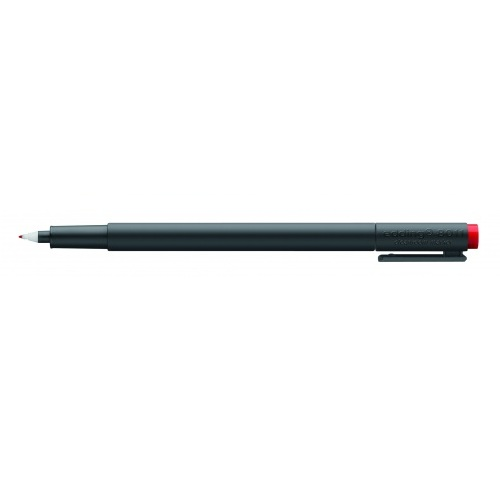 Маркер перманентный для чистых помещений Edding (Эддинг) 8011 Cleanroom, круглый наконечник, красный 002