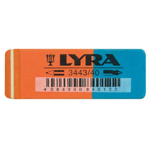 Ластик Lyra для карандашей и чернил, арт.L7402400