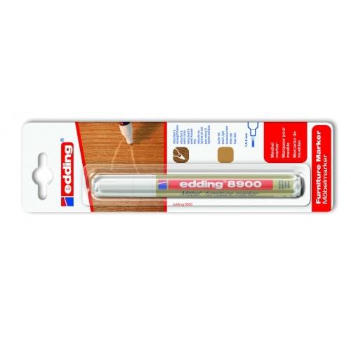 Маркер для мебели Edding (Эддинг) 8900, 1,5-3 мм, бук,  блистер